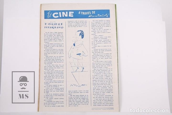 Coleccionismo deportivo: Revista / Publicación De Fútbol - Dicen - 1956, Nº 204 - Kubala F.C Barcelona - Foto 3 - 165352389