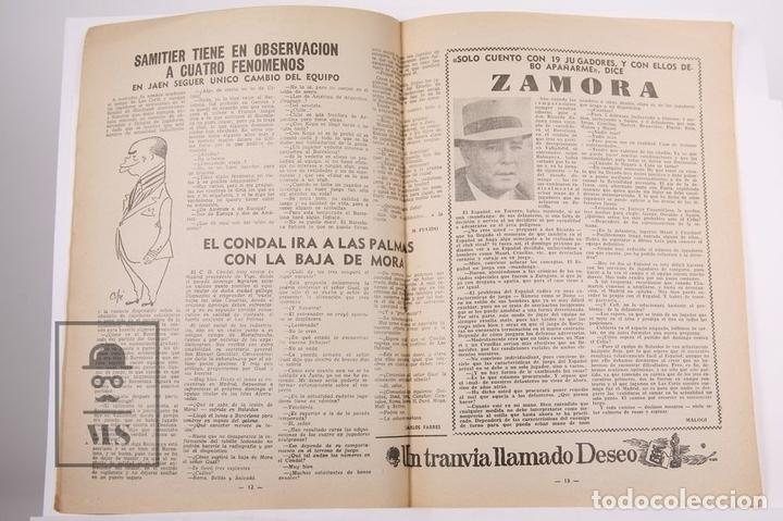 Coleccionismo deportivo: Revista / Publicación De Fútbol - Dicen - 1956, Nº 206 - Casamitjana R.C.D Español - Foto 2 - 165352490