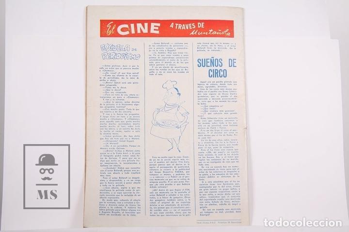 Coleccionismo deportivo: Revista / Publicación De Fútbol - Dicen - 1956, Nº 206 - Casamitjana R.C.D Español - Foto 3 - 165352490