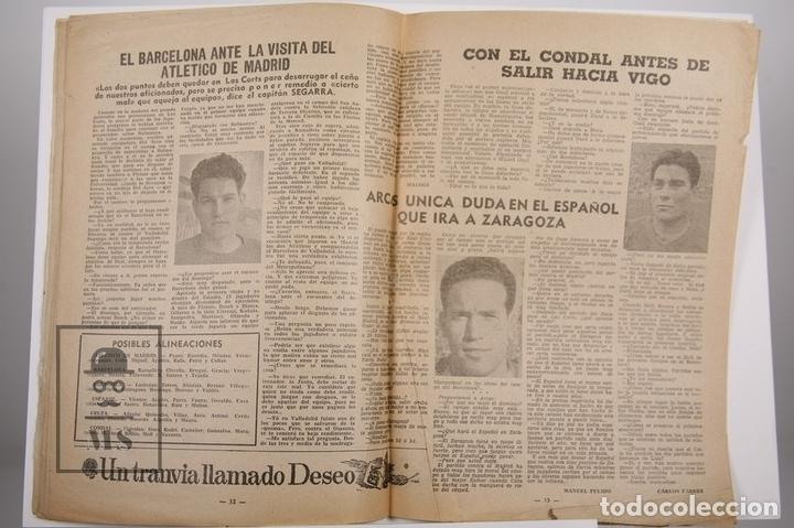 Coleccionismo deportivo: Revista / Publicación De Fútbol - Dicen - 1956, Nº 206 - Tejada F.C. Barcelona - Foto 2 - 165352634