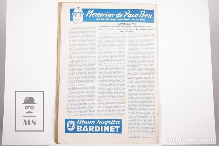 Coleccionismo deportivo: Revista / Publicación De Fútbol - Dicen - 1956, Nº 206 - Tejada F.C. Barcelona - Foto 3 - 165352634