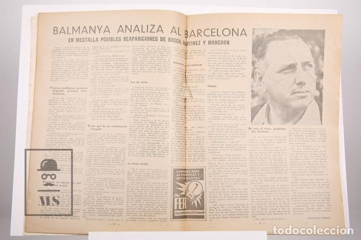 Coleccionismo deportivo: Revista / Publicación De Fútbol - Dicen - 1956, Nº 212 - Rodri C.D. Condal - Foto 2 - 165352902