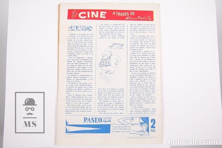 Coleccionismo deportivo: Revista / Publicación De Fútbol - Dicen - 1956, Nº 212 - Rodri C.D. Condal - Foto 3 - 165352902