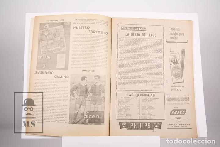 Coleccionismo deportivo: Revista / Publicación De Fútbol - Dicen - 1957, Nº 223 - Verges y Gensana F. C. Barcelona - Foto 2 - 165353266