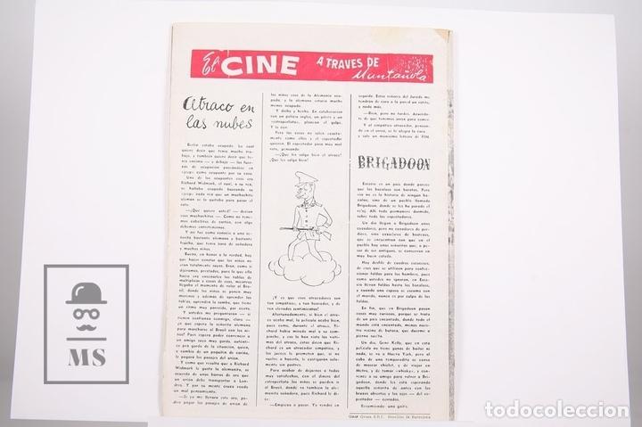 Coleccionismo deportivo: Revista / Publicación De Fútbol - Dicen - 1957, Nº 223 - Verges y Gensana F. C. Barcelona - Foto 3 - 165353266