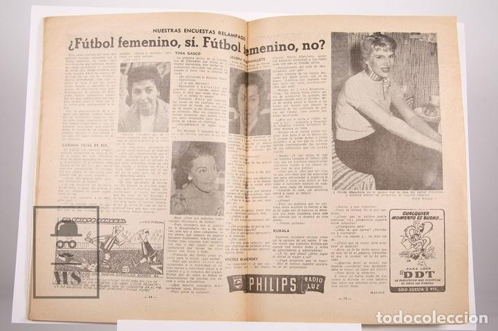 Coleccionismo deportivo: Revista / Publicación De Fútbol - Dicen - 1957, Nº 226 - Basora, Kubala, Manchon... F.C. Barcelona - Foto 2 - 165353489