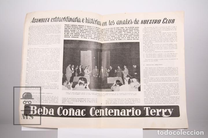 Coleccionismo deportivo: Boletín Club De Fútbol Barcelona - Nº 11 - Mayo de 1955 - Foto 2 - 165353778