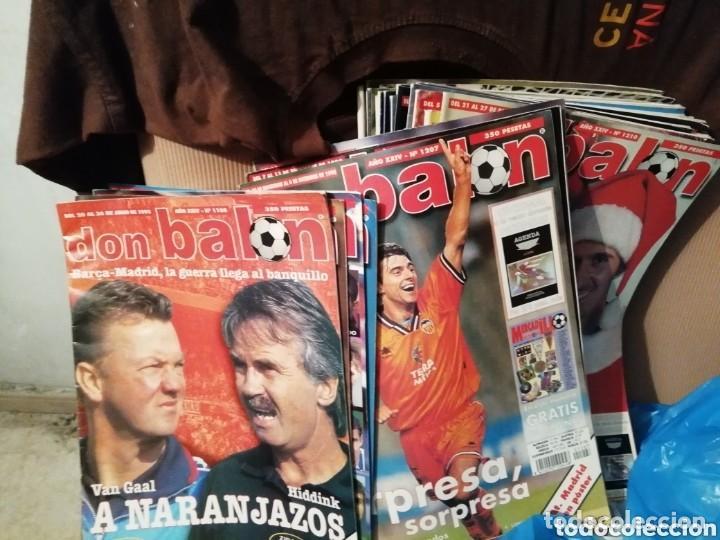 COLECCIÓN DON BALON. LOTE REVISTAS AÑO 1998 (Coleccionismo Deportivo - Revistas y Periódicos - otros Fútbol)