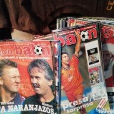 Coleccionismo deportivo: COLECCIÓN DON BALON. LOTE REVISTAS AÑO 1998. Lote 165407122