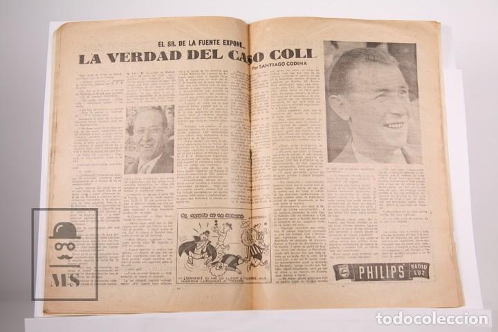 Coleccionismo deportivo: Revista / Publicación De Fútbol - Dicen Nº 183 Año 1956 - Mandi F.C Barcelona - Foto 2 - 165481606