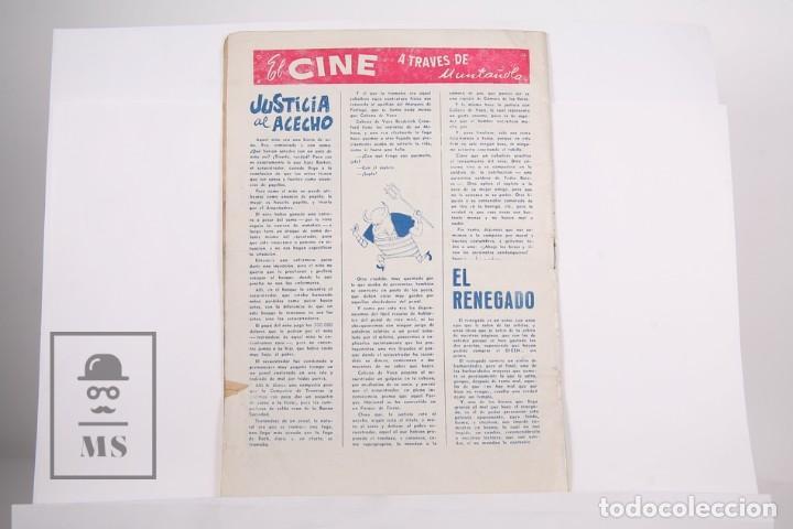 Coleccionismo deportivo: Revista / Publicación De Fútbol - Dicen Nº 183 Año 1956 - Mandi F.C Barcelona - Foto 3 - 165481606