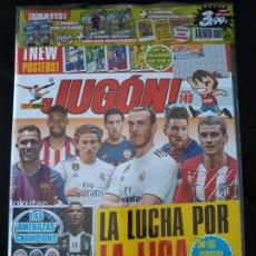 Coleccionismo deportivo: REVISTA JUGON 140. PANINI. ENVOLTORIO ORIGINAL. SIN CROMOS . Lote 165663898