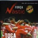 Coleccionismo deportivo: REVISTA FUTBOL NASTIC TARRAGONA NUM.36 DE 2019 - 72 PAG FOTOS,ARTICULOS,PUBLICIDAD... Lote 165736794