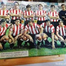 Coleccionismo deportivo: DIARIO AS COLOR. LOTE POSTERS HISTÓRICOS AÑOS 70.. Lote 165800166