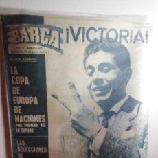Coleccionismo deportivo: EUROCOPA ESPAÑA 1964. REVISTA HISTÓRICA Y SIMBÓLICA.. Lote 165800526
