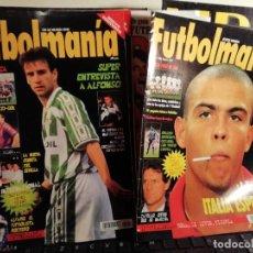 Coleccionismo deportivo: LOTE REVISTAS ANTIGUAS FÚTBOL. VARIADAS AÑOS 90 . Lote 165843002