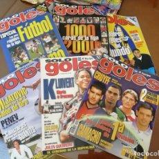 Coleccionismo deportivo: REVISTAS ANTIGUAS FÚTBOL . SOLO GOLES. PRIMEROS NÚMEROS.. Lote 165844022
