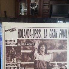 Coleccionismo deportivo: EUROCOPA 1988 FINAL. DIARIO AS PERIÓDICO HISTÓRICO.. Lote 165845234