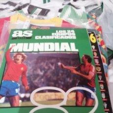 Coleccionismo deportivo: MUNDIAL 1982 ESPAÑA. GUÍA DIARIO AS. COMPLETA.. Lote 165846194