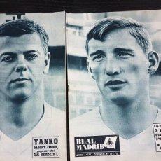 Coleccionismo deportivo: REVISTAS OFICIAL REAL MADRID 1962. Lote 166022436