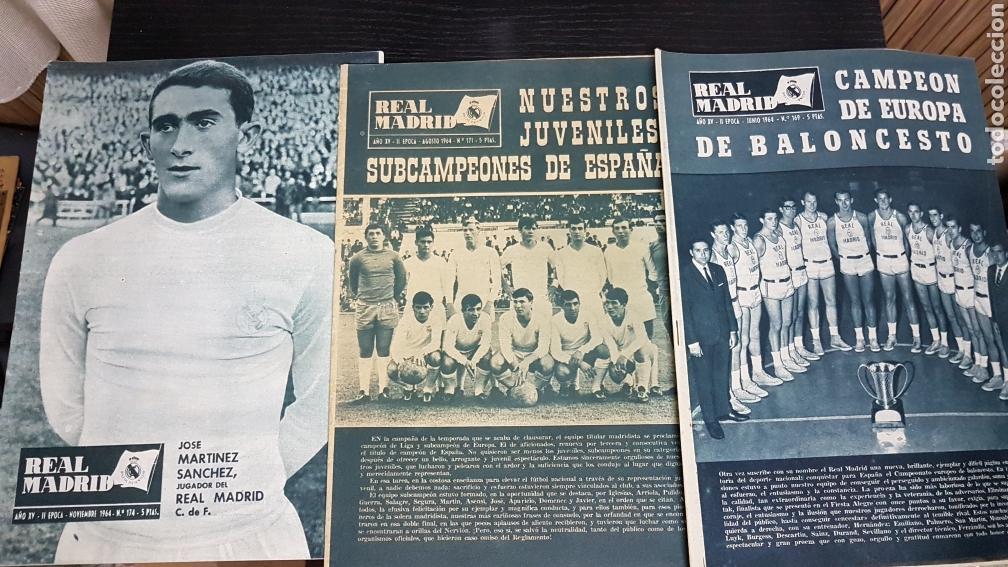REVISTAS OFICIAL REAL MADRID 1964 (Coleccionismo Deportivo - Revistas y Periódicos - otros Fútbol)