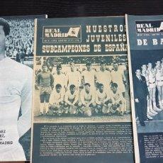 Coleccionismo deportivo: REVISTAS OFICIAL REAL MADRID 1964. Lote 166023472