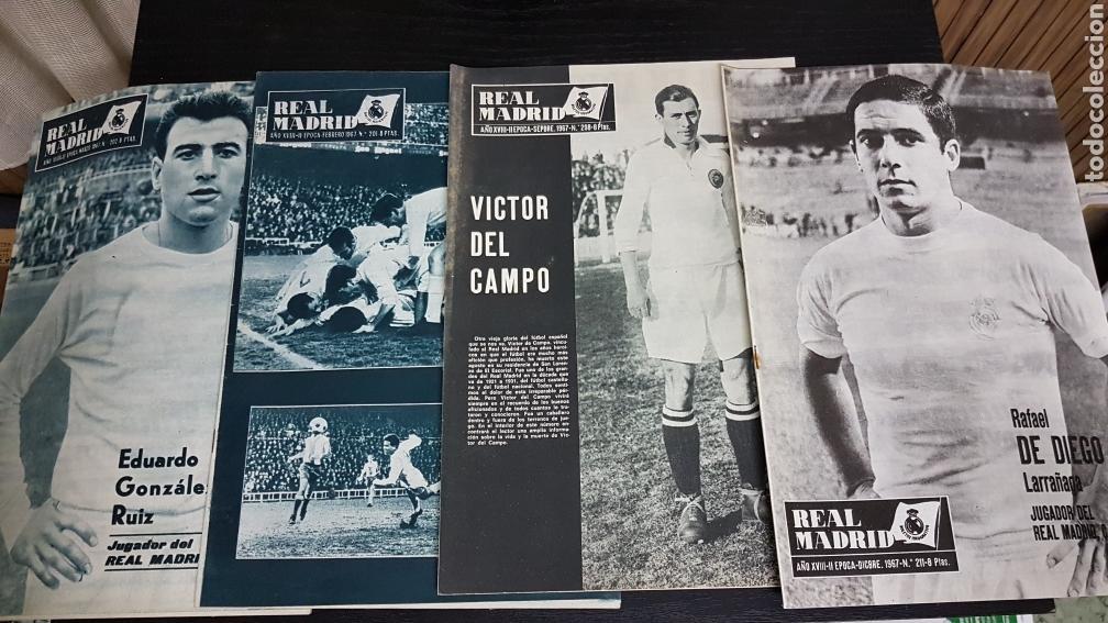 REVISTAS OFICIAL REAL MADRID 1967 (Coleccionismo Deportivo - Revistas y Periódicos - otros Fútbol)