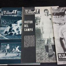 Coleccionismo deportivo: REVISTAS OFICIAL REAL MADRID 1967. Lote 166024888