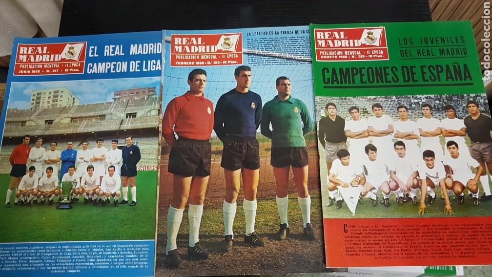 REVISTAS OFICIAL REAL MADRID 1968 (Coleccionismo Deportivo - Revistas y Periódicos - otros Fútbol)