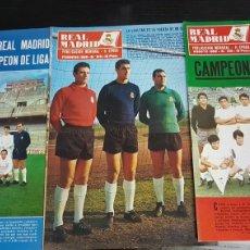 Coleccionismo deportivo: REVISTAS OFICIAL REAL MADRID 1968. Lote 166025138