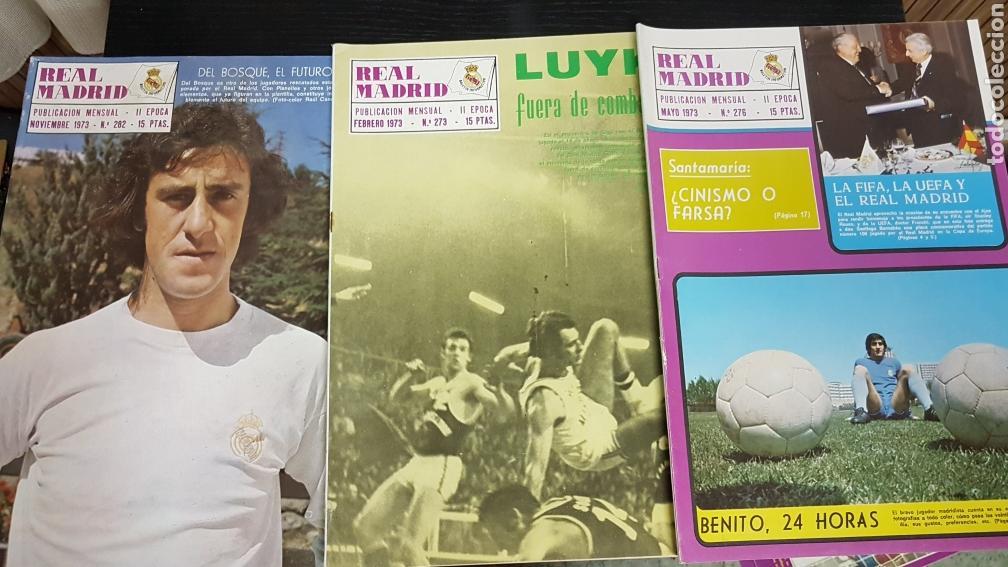 REVISTAS OFICIAL REAL MADRID 1973 (Coleccionismo Deportivo - Revistas y Periódicos - otros Fútbol)