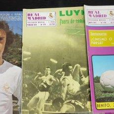 Coleccionismo deportivo: REVISTAS OFICIAL REAL MADRID 1973. Lote 166025785