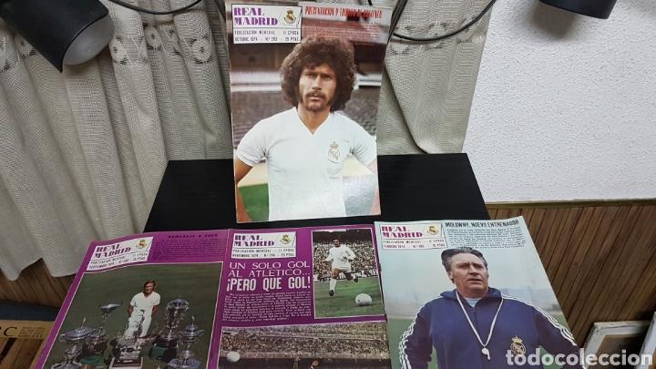 REVISTAS OFICIAL REAL MADRID 1974 (Coleccionismo Deportivo - Revistas y Periódicos - otros Fútbol)