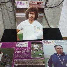Coleccionismo deportivo: REVISTAS OFICIAL REAL MADRID 1974. Lote 166026030