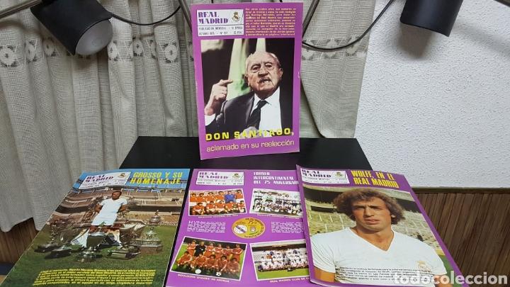 REVISTAS OFICIAL REAL MADRID 1976 1977 (Coleccionismo Deportivo - Revistas y Periódicos - otros Fútbol)