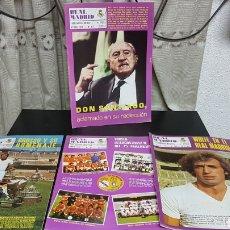 Coleccionismo deportivo: REVISTAS OFICIAL REAL MADRID 1976 1977. Lote 166026416