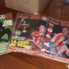 Coleccionismo deportivo: ATLÉTICO MADRID, EL DOBLETE 1996. REVISTAS DON BALON.... Lote 166053834