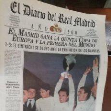 Coleccionismo deportivo: COLECCIÓN COMPLETA CENTENARIO REAL MADRID CF. 100 PERIÓDICOS.. Lote 166067418