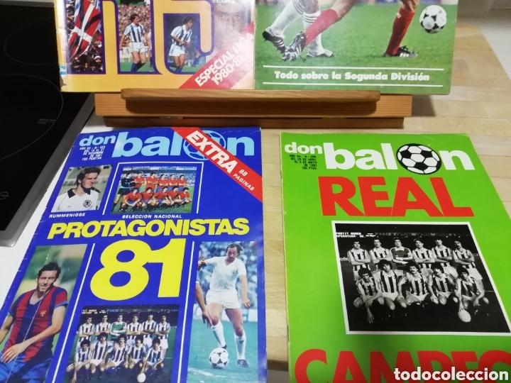 REVISTAS FUTBOL ANTIGUAS AÑOS 80 . EDITORIAL DON BALON (Coleccionismo Deportivo - Revistas y Periódicos - otros Fútbol)
