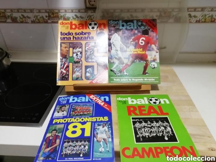 Coleccionismo deportivo: REVISTAS FUTBOL ANTIGUAS AÑOS 80 . EDITORIAL DON BALON - Foto 3 - 166095706