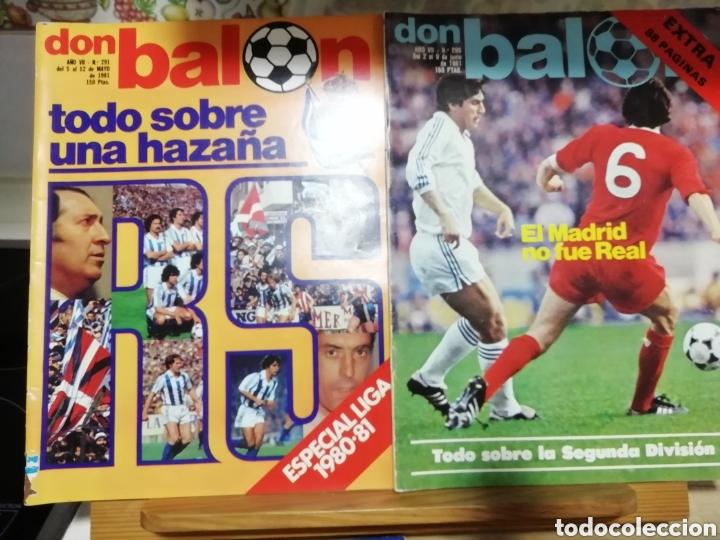 Coleccionismo deportivo: REVISTAS FUTBOL ANTIGUAS AÑOS 80 . EDITORIAL DON BALON - Foto 4 - 166095706