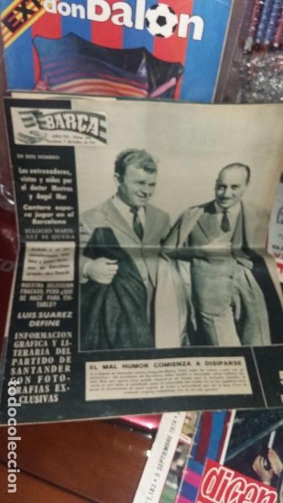 REVISTAS FUTBOL AÑOS 70-80 . ACTUALIDAD AZULGRANA (Coleccionismo Deportivo - Revistas y Periódicos - otros Fútbol)