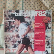 Coleccionismo deportivo: DON BLAON EXTRA NUMERO 3. REVISTA DEL MUNDIAL ESPAÑA 1982. LE FALTAN 4 PAGINAS (47-51). Lote 166432310