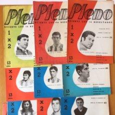 Coleccionismo deportivo: PLENO LOTE 12 REVISTAS IMÁGENES JUGADORES AT. MADRID 1972-3-4. Lote 166681088