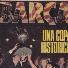 Coleccionismo deportivo: DICEN EXTRA: BARÇA UNA COPA HISTÓRICA. 1981. Y UN LIBRO SORPRESA DE REGALO. Lote 166845542