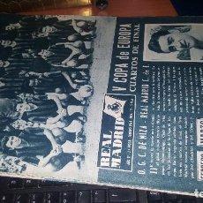 Coleccionismo deportivo: REVISTA REAL MADRID N° 115 DE 1960. Lote 166867182
