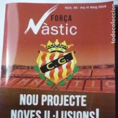 Coleccionismo deportivo: LIBRITO PROGRAMA FUTBOL NASTIC TARRAGONA NUM.40 -REPORTAJES-FOTOS-PUBLICIDAD-ETC- CATALAN 72 PAG. Lote 166966124