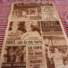 Coleccionismo deportivo: DICEN(27-5-74)F.C.BARCELONA LA COPA CON JOHAN CRUYFF-OVIEDO 2 BARÇA 3. Lote 167632316