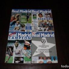 Coleccionismo deportivo: LOTE 7 REVISTAS REAL MADRID. Lote 168348152