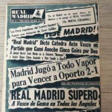 Collezionismo sportivo: ANTIGUA REVISTA DEL REAL MADRID - Nº 73 - 1956 - PEQUEÑA COPA DEL MUNDO EN VENEZUELA, DREWRY, COPA D. Lote 168543512